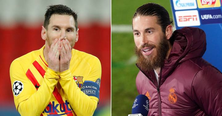 Sergio Ramos Says He Would '100% Welcome' Lionel Messi At Real Madrid