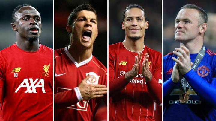 Liverpool And Manchester United Premier League All-Time Combined XI