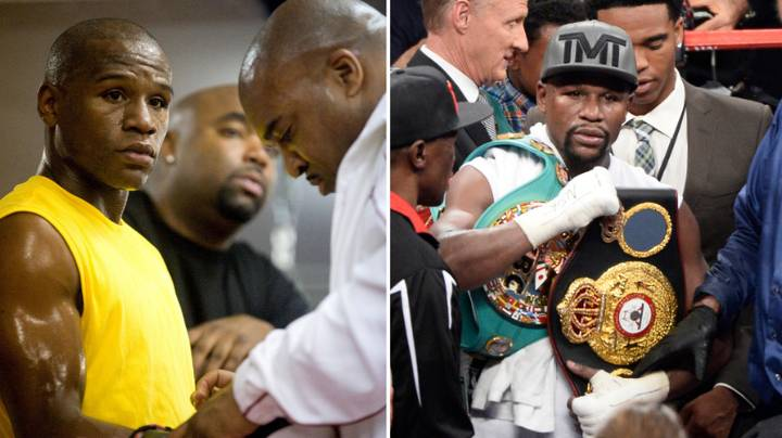 Floyd Mayweather Once Knocked Out Fighter More Than 60 lbs Heavier Than Him