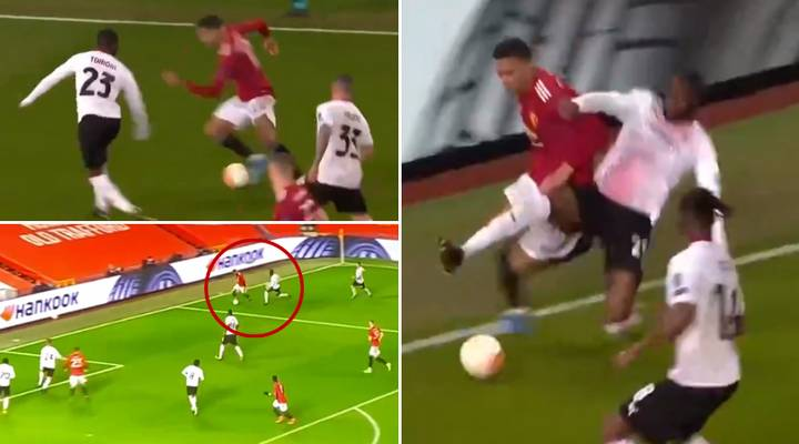 Fans Claim Fikayo Tomori 'Pocketed' Manchester United's Mason Greenwood