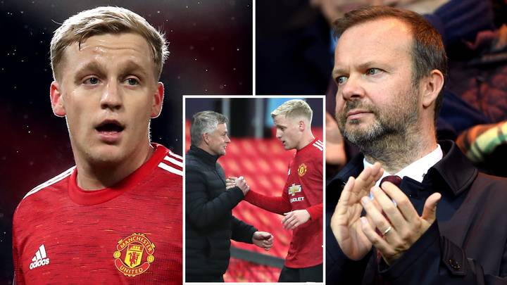 Donny Van De Beek And Ed Woodward To 'Hold Showdown Talks As Man United Player Wants To Quit'