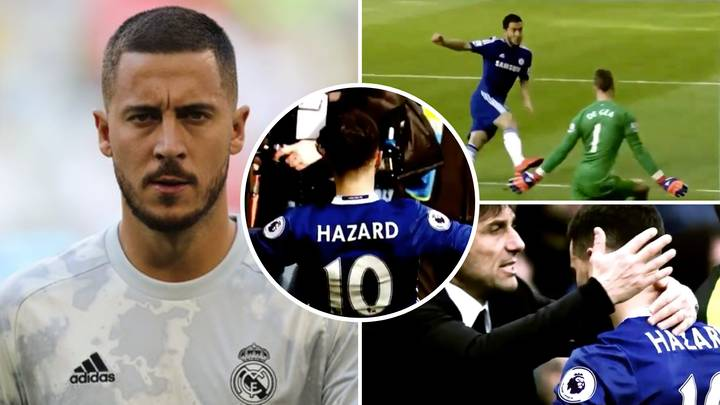 Chelsea Fan Shares Incredible Eden Hazard Video After Real Madrid Star's Latest Injury