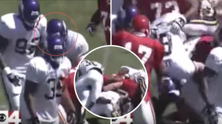When Brock Lesnar Caused An All-Out Massive Team Brawl In An NFL Game