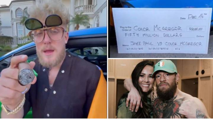 Jake Paul Offers Conor McGregor $50 Million To Fight, Disgustingly Insults Irishman's Fiancée