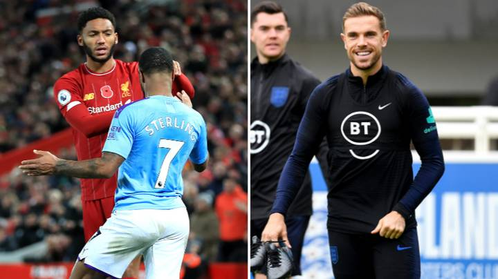 Jordan Henderson Rang Both Raheem Sterling And Joe Gomez To Play Peacemaker
