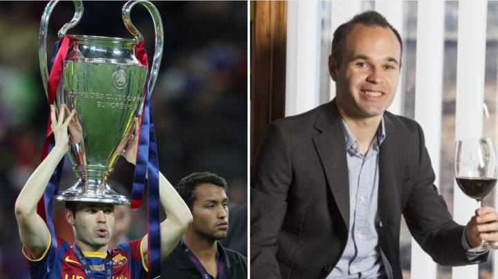 Andres Iniesta's Wine Business Is Central To His Next Career Move
