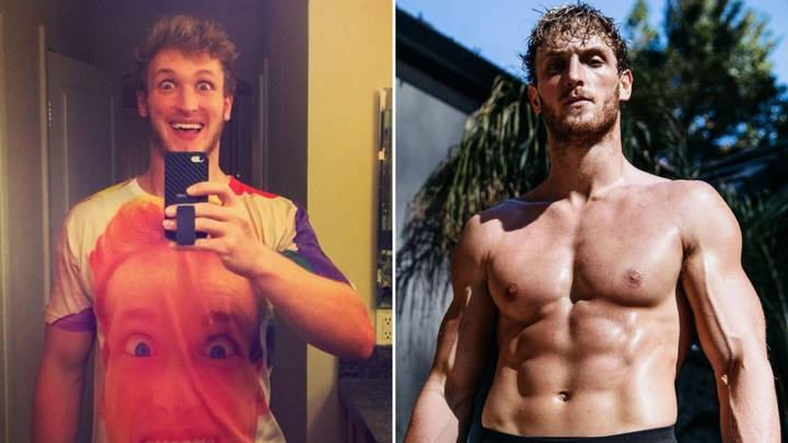 Logan Paul Has Undergone An Incredible Body Transformation Ahead Of Floyd Mayweather Super Fight