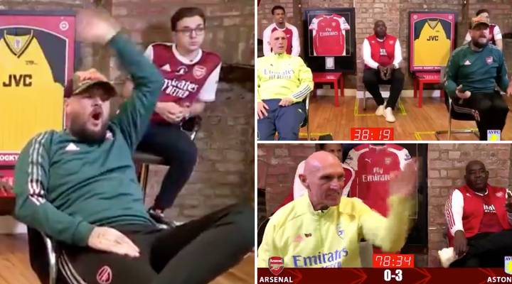 The AFTV Highlights From Arsenal's Defeat Against Aston Villa Are Too Funny