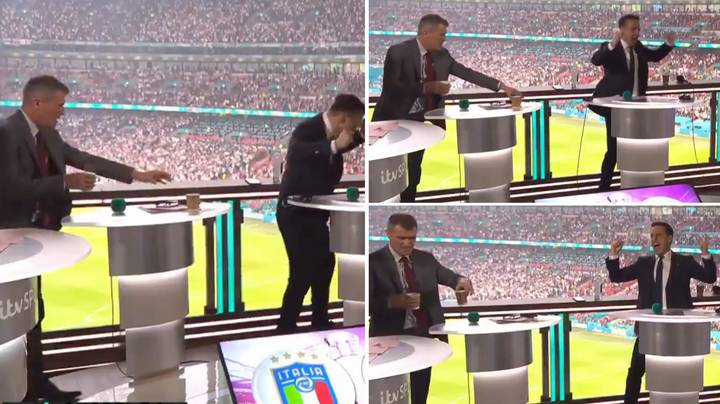 Roy Keane's Reaction To England's Opener In Euro 2020 Final Was Priceless