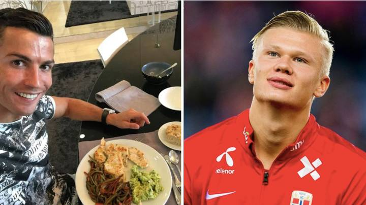 Erling Haaland Has Copied Cristiano Ronaldo's Diet To Become The Best