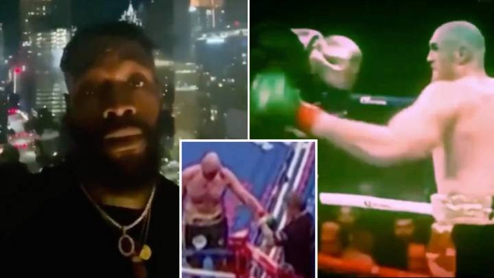 Deontay Wilder Accuses Tyson Fury Of Cheating In Their Fights In Controversial Video Message