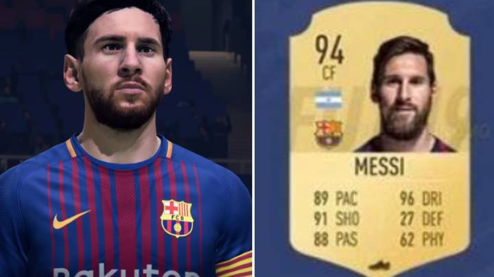 Lionel Messi's FIFA 19 Card Has Been Leaked