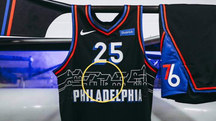 Eagle-Eyed Fans Spot Genius Detail In Ben Simmons' New Philadelphia 76ers Jersey