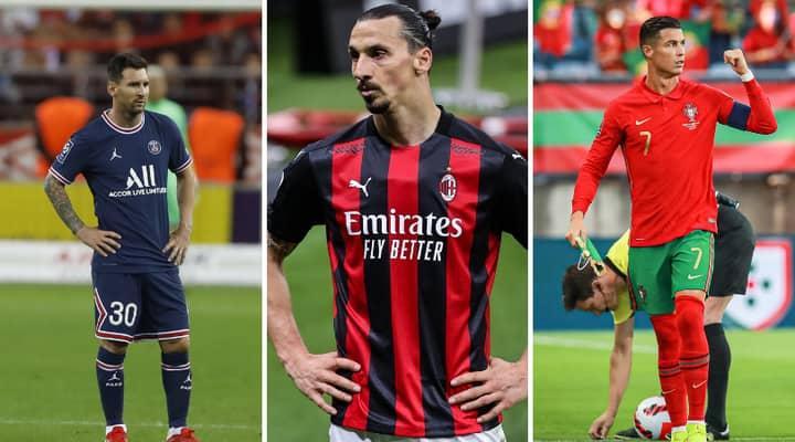 Zlatan Ibrahimović Claims He's As Good As Messi And Ronaldo
