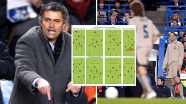 Jose Mourinho's Scouting Report On Barcelona From The 05/06 Leaked Online And It's Fascinating