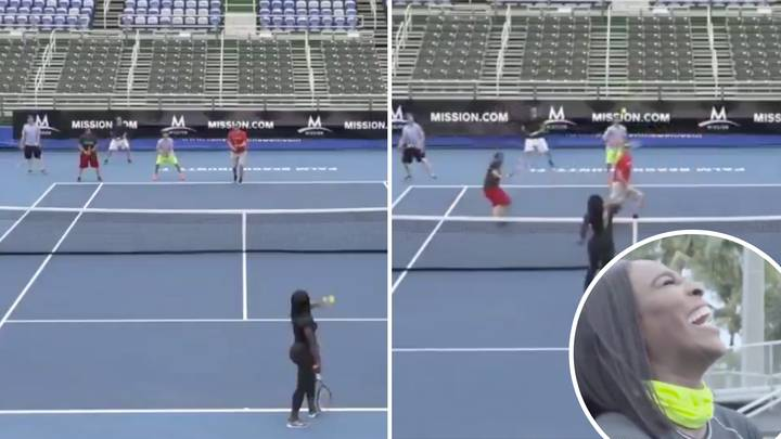 When Serena Williams Simultaneously Tore Apart Five Men Who Tried To Win A Point Against Her