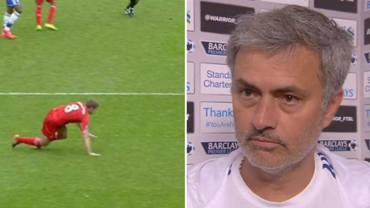 Jose Mourinho Was Brilliant In His Post Steven Gerrard Slip Interview