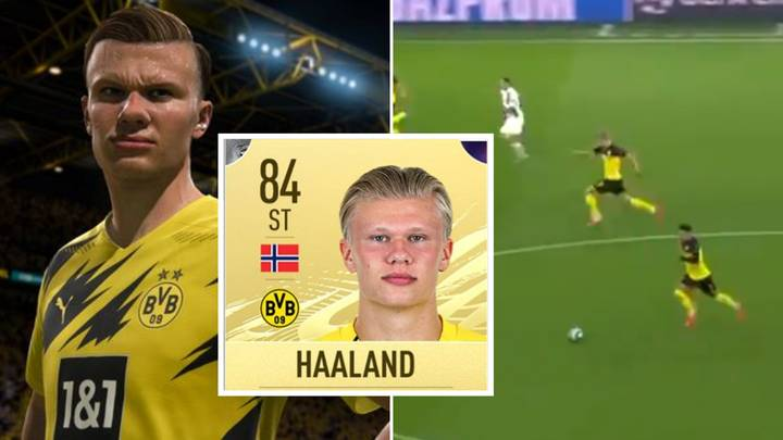 Fascinating Video Proves EA Sports Have Made A Mistake With Erling Haaland's FIFA 21 Rating