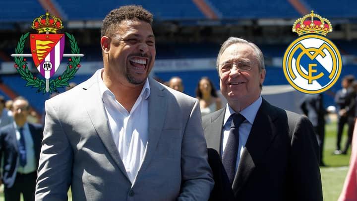 Ronaldo Luís Nazário De Lima Asks Real Madrid For Permission To Sign Player On A Loan Deal