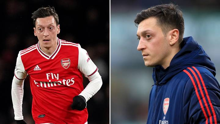 """Mesut Ozil """"To Be Left Out"""" Of Arsenal's Premier League Squad Despite Earning £350,000-Per-Week"""