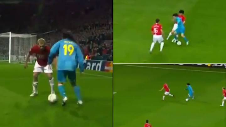 Epic Video Of A 20-Year-Old Lionel Messi Destroying A 'Peak Manchester United'