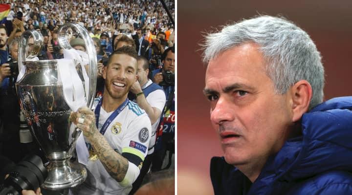 Jose Mourinho Keeping Tabs On Real Madrid Legend To Solve Spurs Problem Area