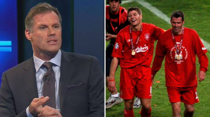 Jamie Carragher Gives New Explanation As To Why He'd Pick Steven Gerrard Over Paul Scholes