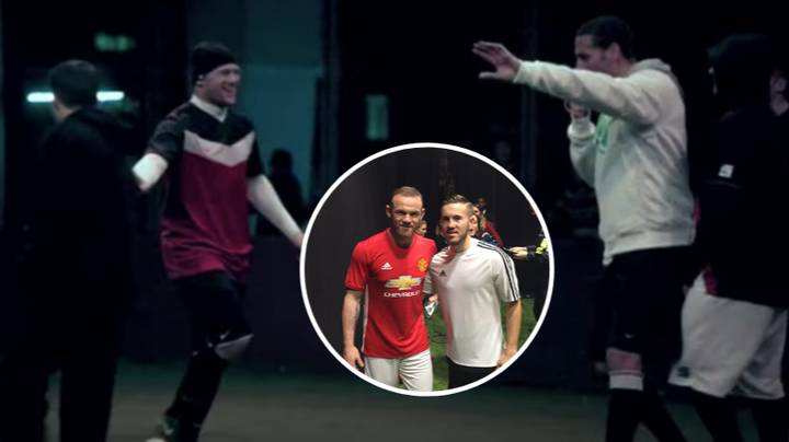 Meet The Lad Who Nutmegged Wayne Rooney Playing Five-A-Side