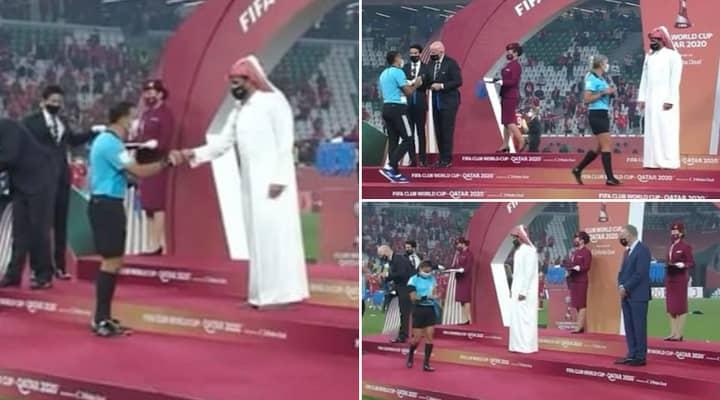 Qatari Royal Refuses To Acknowledge Female Officials At FIFA Club World Cup