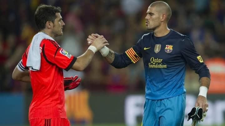Víctor Valdés Pens An Emotional Letter To Iker Casillas Asking Him To Retire