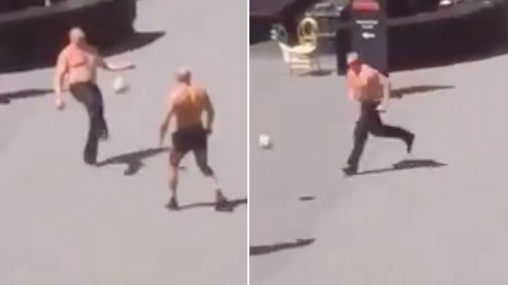 Brock Lesnar Attempting To Play Football Shows He's Not The Perfect Athlete After All