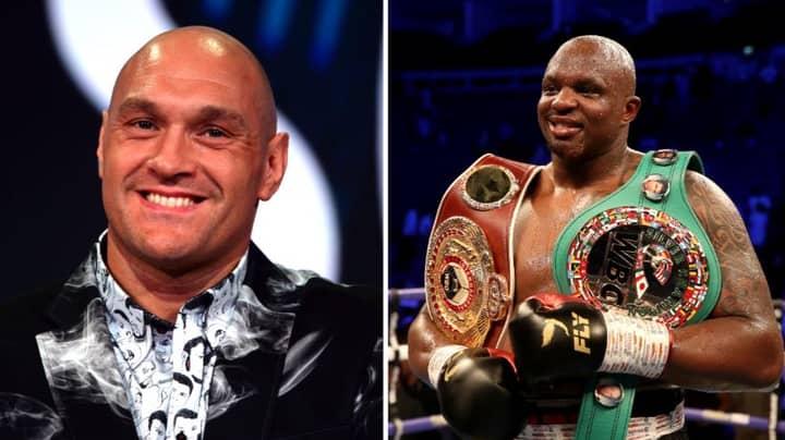 Tyson Fury To Fight Dillian Whyte For WBC Diamond Belt