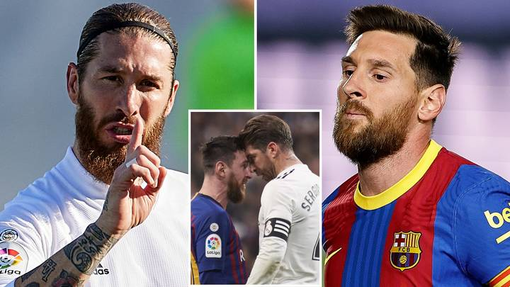 Barcelona Star Lionel Messi Snubs Sergio Ramos When Picking His Toughest Opponent Of All Time