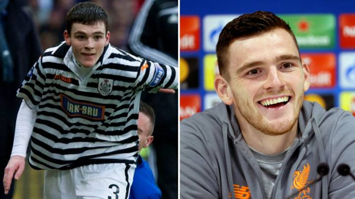 Andy Robertson's Tweet From 2012 Shows How Far He's Come