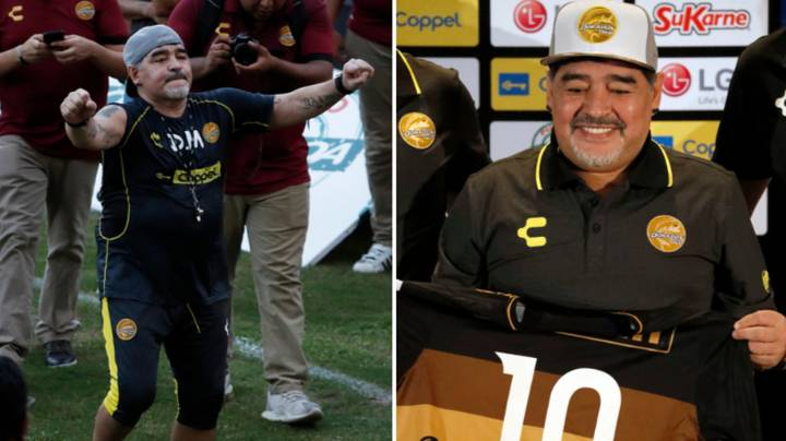 Diego Maradona Demanded Private Jet For New Job Managing Mexican Club