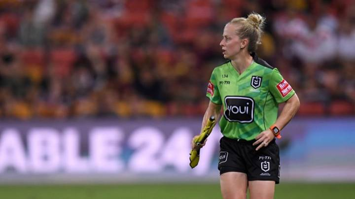 Women's State Of Origin History In The Making With First Ever All-Female Referee Team