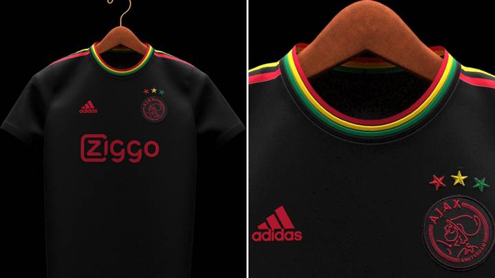 Ajax's 'Bob Marley-Inspired' Third Kit Has Leaked And It's A Thing Of Absolute Beauty