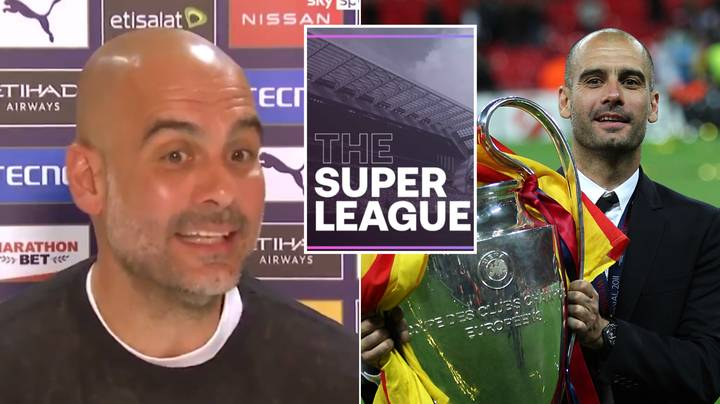 Pep Guardiola's Take On European Super League Was So Incredibly Honest Man City Cut His Press Conference Short