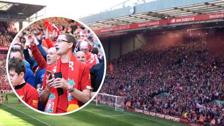 Liverpool Fans Create A Spine-Tingling Atmosphere At Anfield After Wolves Match