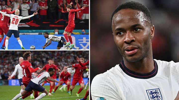 Ex-Premier League Striker Staunchly Defends England Star Raheem Sterling After Penalty Backlash vs Denmark