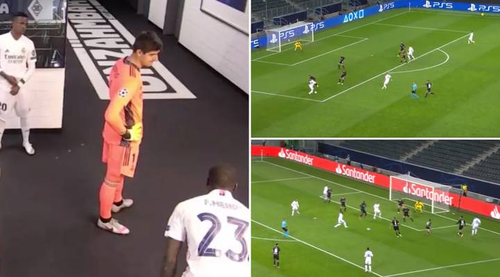 Vinicius Jr's Highlights Vs Borussia Monchengladbach Emerge After Karim Benzema Tells Ferland Mendy Not To Pass To Him