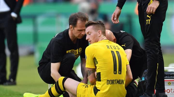 BREAKING: There's More Injury Heartbreak For Borussia Dortmund's Marco Reus