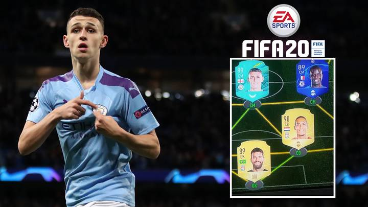Phil Foden's Insane FIFA 20 Ultimate Team Has Been Revealed