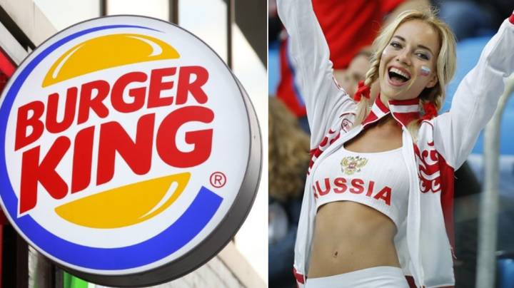 Burger King Russia Apologise After Offering Women Lifetime Supply Of Whoppers If They Impregnate Players At World Cup