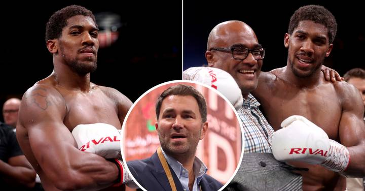 Eddie Hearn: I Feared Anthony Joshua's Dad Would Knock Me Out