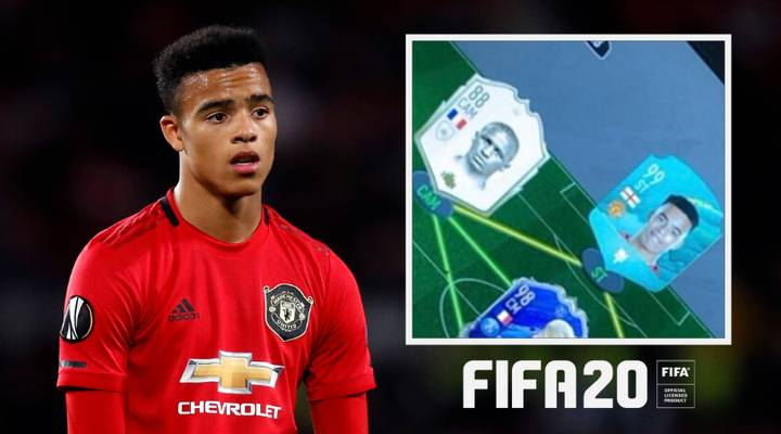 Mason Greenwood's FIFA 20 Ultimate Team Is Out Of This World