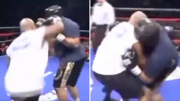 When Mike Tyson Almost KO'd A Charity Opponent With His Trademark Right Hook