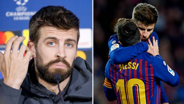 Gerard Pique Has Torn Barcelona To Shreds Over 'Outrageous' Lionel Messi Situation In Remarkable Interview