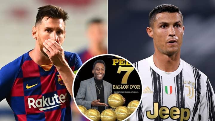 Pele Actually 'Won' More Ballon d'Ors Than Lionel Messi And Cristiano Ronaldo