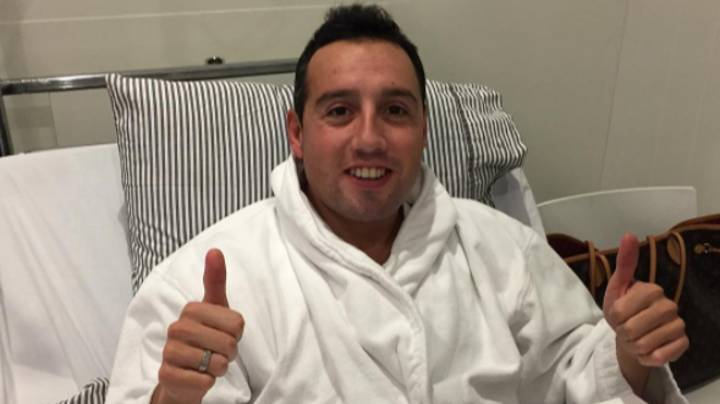 Santi Cazorla Reveals He Nearly Lost His Foot As Remarkable Image Of Scars Emerge